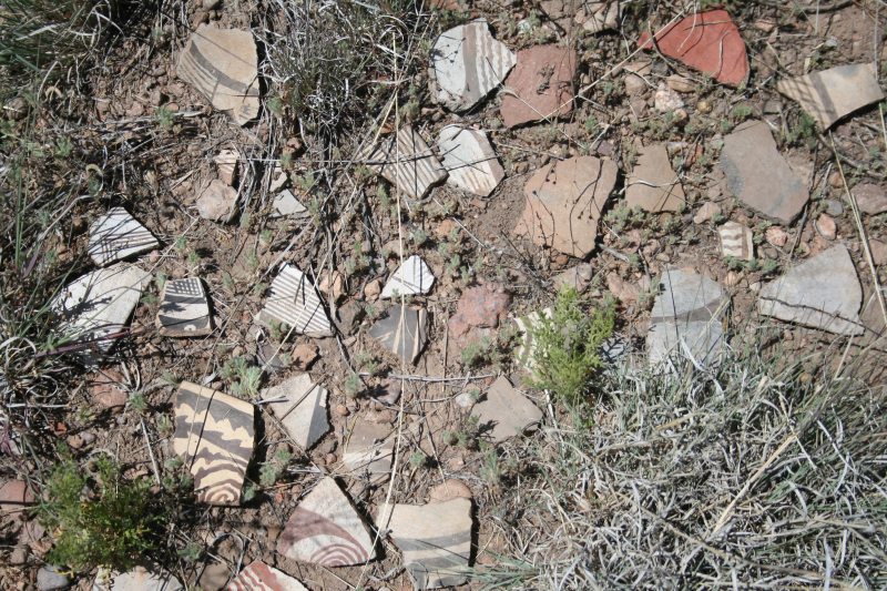 Sherd grouping  as found