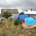 Monsoon Season Threatens the Camp