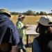 Pat Gilman describes her excavation