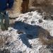 Kipp Ruin industrial-strength mortar holes in caliche