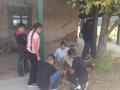 Kalab teaching kids about tools