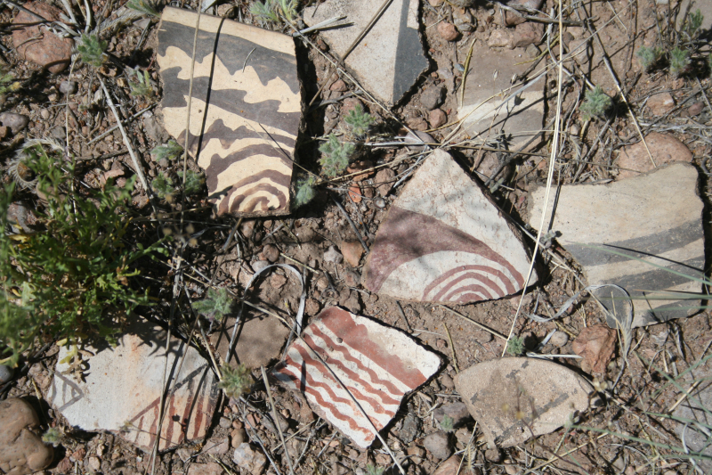 Sherd grouping  detail