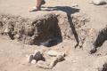 17 - Hearth where ash was found - Kayenta features