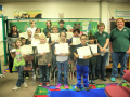 San Lorenzo 3rd and 4th Graders Receive Site Steward Certificates