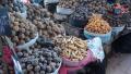 Peru - market potatoes - photo by K.Meredith