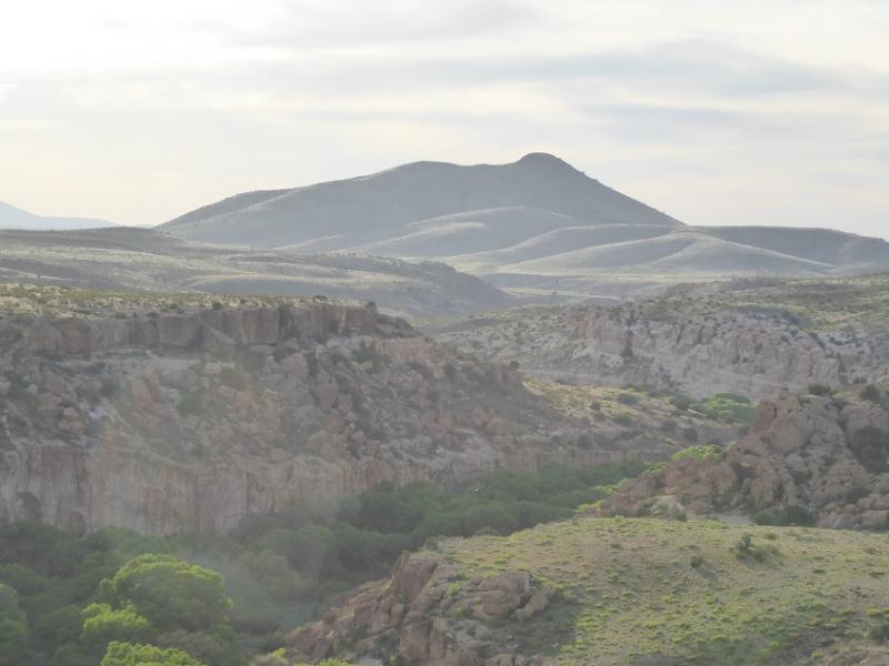 Canador Peak over the Gila