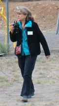 Nancy Volunteering at the Harvest Fest